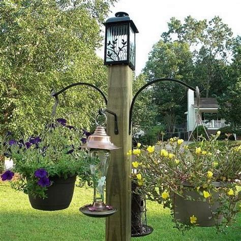 Garden Post Easy Diy Squirrel Feeder Woodworking Projects Plans