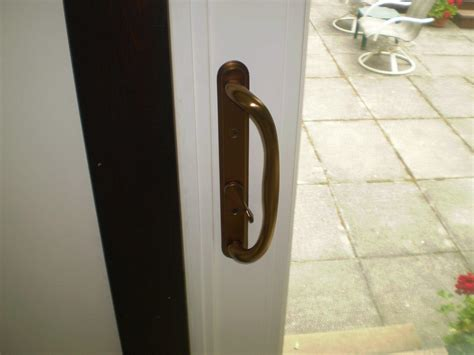 windows door hardware rubbed bronze patio door