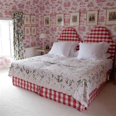 red toile bedroom housetohome co uk