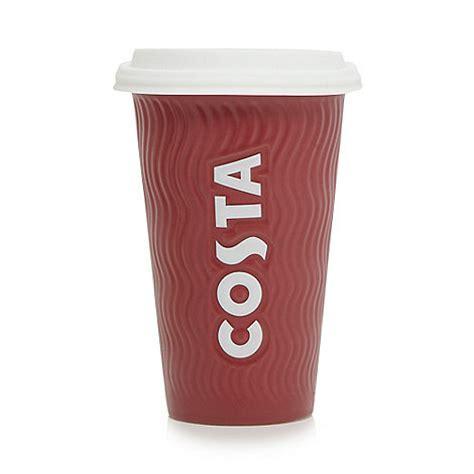 Costa Ceramic cup   Debenhams
