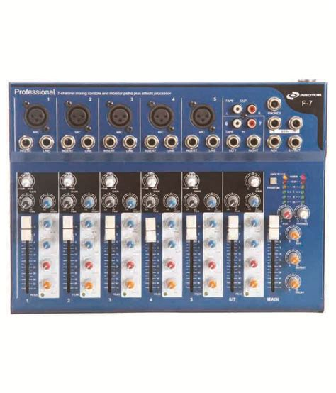 Mixer Nx Audio nx audio f7 live mixer buy nx audio f7 live mixer at best price in india on snapdeal