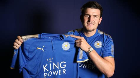 harry maguire leicester city sign harry maguire