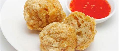 membuat bakso goreng udang resep dan cara membuat bakso goreng kriuk