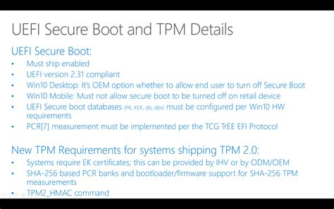 install windows 10 in uefi mode microsoft tightens windows 10 s secure boot screws where