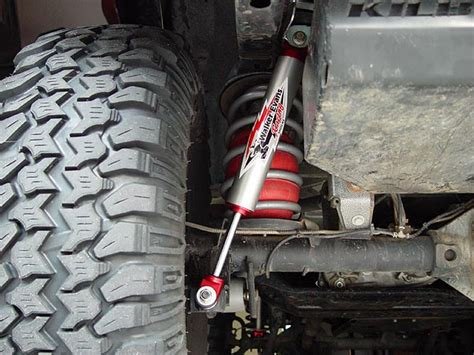 Jeep Wrangler Tj Shocks Cut Pad For Shock Clearance Jeep Wrangler Forum