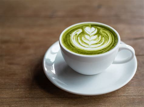 Green Coffee Latte green tea can fight salt and cravings