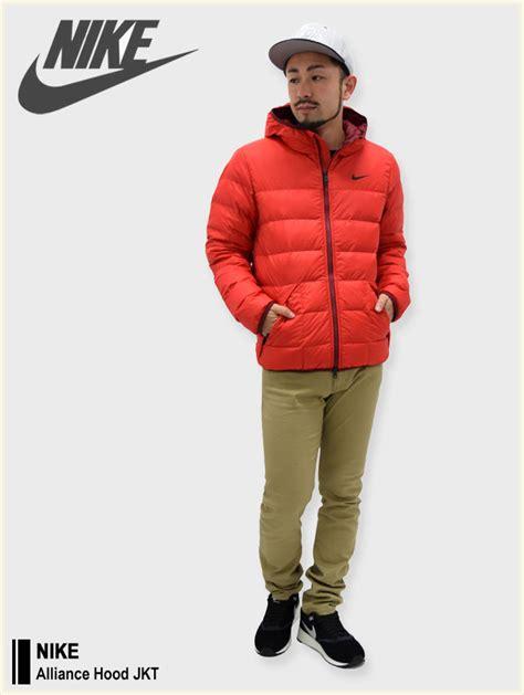 Jaket Alliance 楽天市場 ナイキ nike ジャケット メンズ アライアンス フード nike alliance jkt jacket jaket ダウンジャケット ダウン アウター