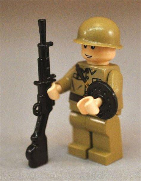 Lego Compatible Dp28 Rifle brickarms dp 28 black brickarms weapons brickarms warehouse19 se