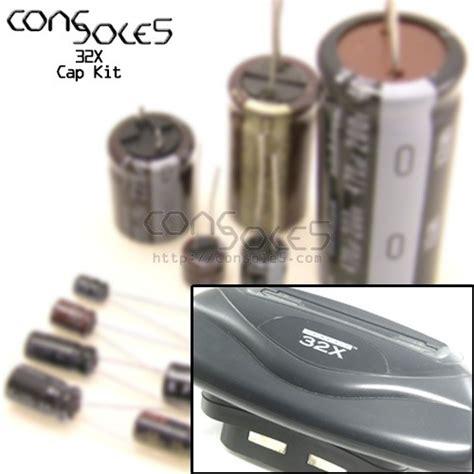 oscon capacitor wiki sega 32x cap kit