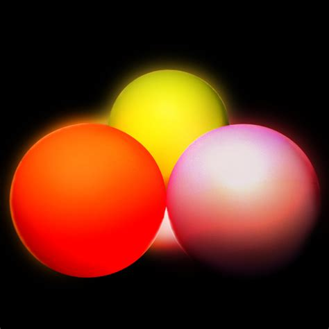 Led Light Up Balls Oddballs Juggling Light Balls