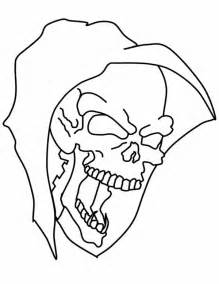 halloween skull mask coloring coloring sky