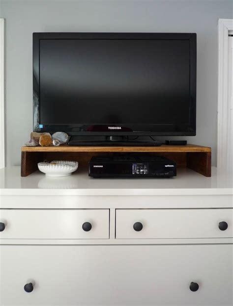 Dresser Top Tv Riser by Tv Riser With Drawer Mid Century Modern Media