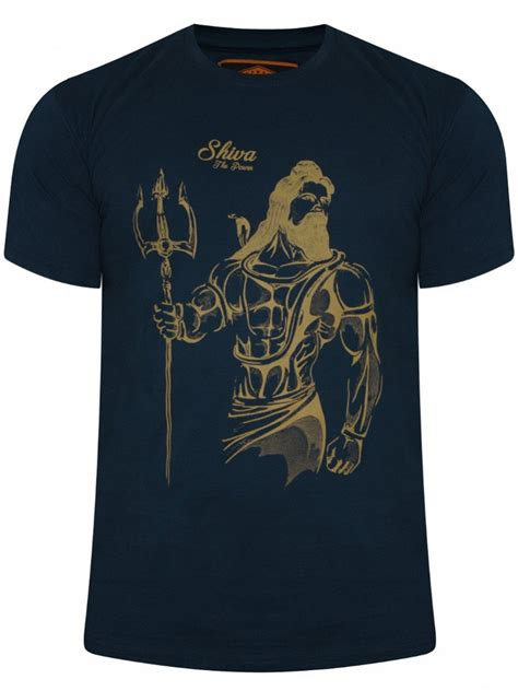 T Shirt I Am buy t shirts shiva navy neck t shirt