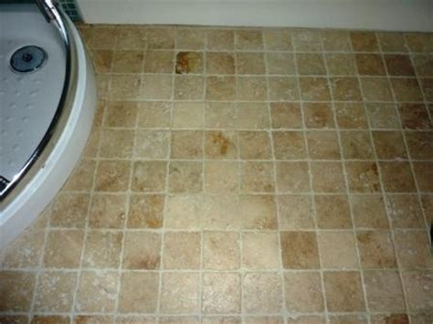 sealing a bathroom floor tile doctor travertine stone tiles sealing and cleaning