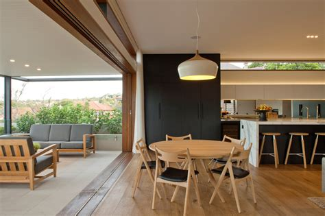 dining room tables sydney house contemporary corner site house overlooking middle harbour