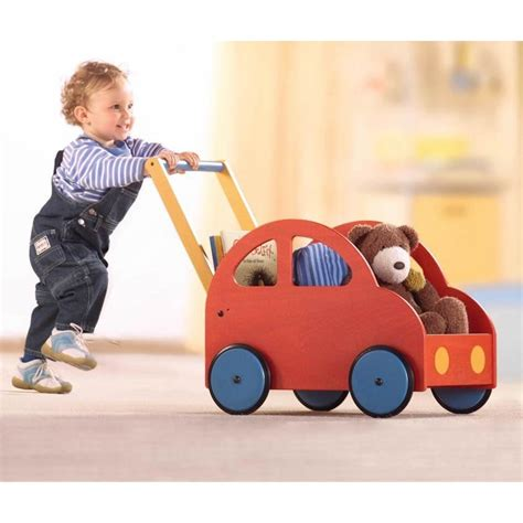 Is Pushing by Haba Pushing Car Baby Walker