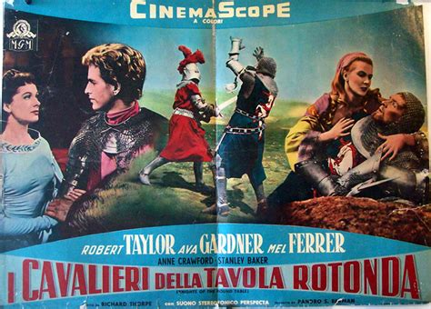 i cavalieri della tavola rotonda 1953 quot i cavalieri della tavola rotonda quot poster quot knights