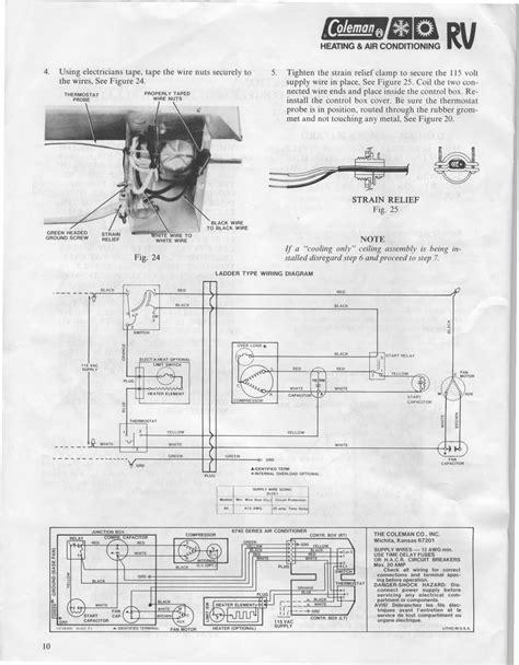 willwander coleman air conditioner installation