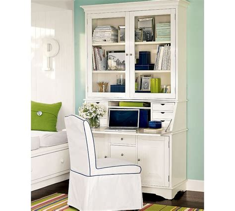pottery barn desk with hutch modern secretary desk with hutch secretary desk hutch