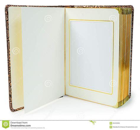libro photographers a z libro abierto con las p 225 ginas en blanco y marco decorativo