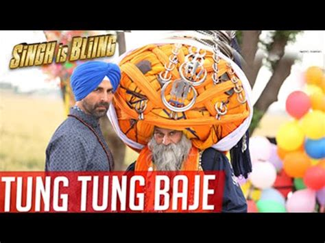 tung tung baje out singh is bliing   akshay kumar & amy