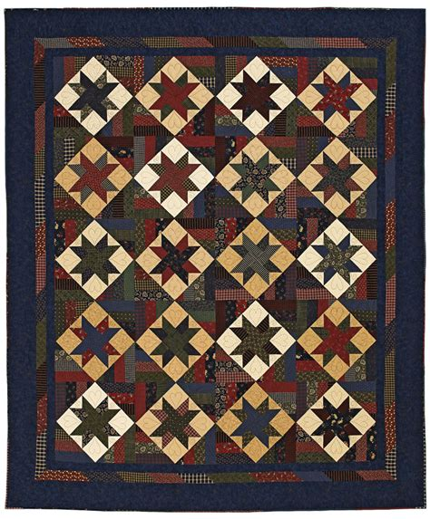 American Patchwork - rambling prairie quilting pattern from the editors of