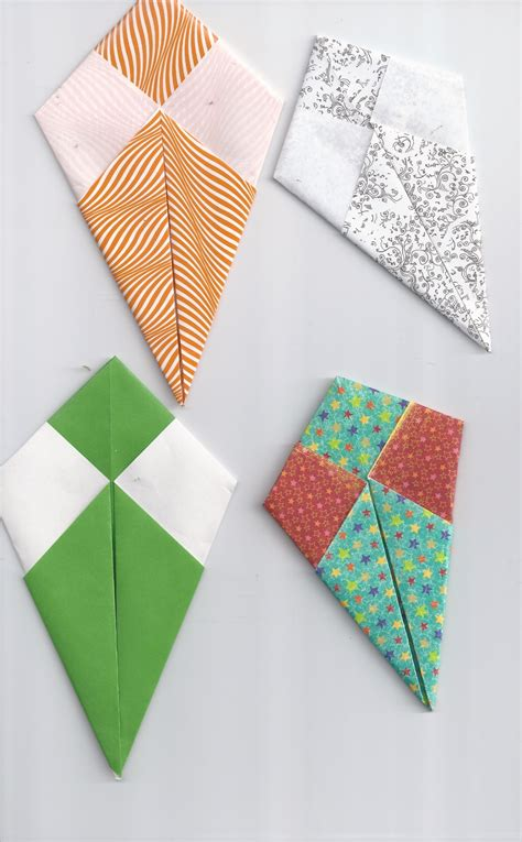 How To Make A Paper Kite - image gallery origami kites