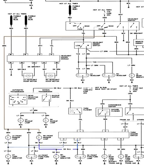 86 trans am headlight motor wiring diagram get free image about wiring diagram