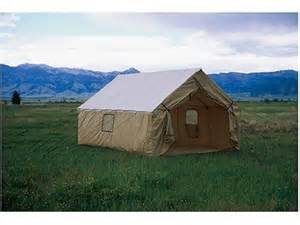 wall tent montana canvas wall tent sewn in floor 12oz canvas
