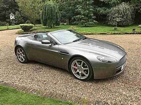 Aston Martin Vantage Convertible For Sale by Aston Martin V8 Vantage Convertible Car For Sale