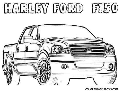 ford trucks coloring page police and fire truck coloring pages cars 4 image