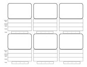 storyboarding template illustration storyboards el space the of l