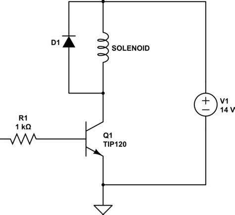 cool solenoid symbol schematic images electrical circuit