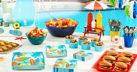 summer parties summer party supplies summer party decorations party city
