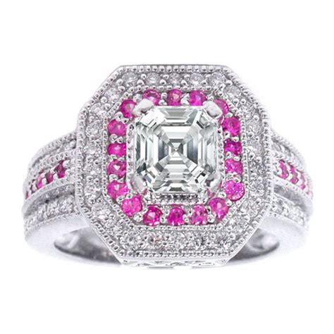 pink engagement rings image search results