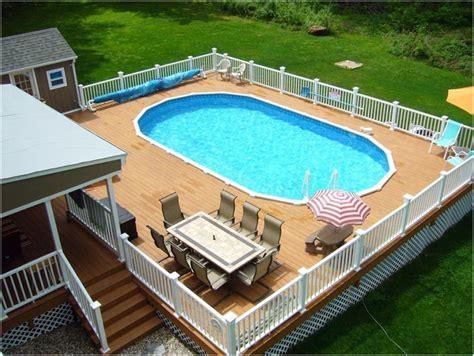 beautiful swimming pools beautiful deck designs around above ground pool interior