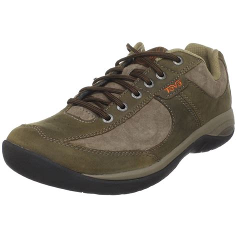 teva mens techny casual shoe in brown for chocolate