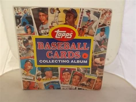 Gift Card Collection - topps baseball cards collecting album quot full quot album full of baseball cards