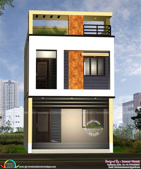 design house 20x50 17 feet width house design kerala home design and floor