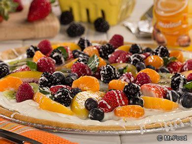 tutti frutti dessert pizza | mrfood.com