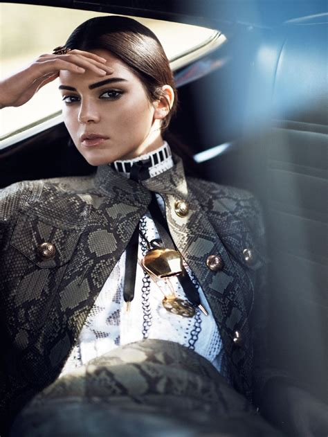 Catwalk To Photo Shoot For Vogue Us by Kendall Jenner Vogue Magazine Photoshoot Hawtcelebs