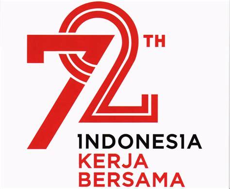 Kaos Hut Kemerdekaan Ri 72 Tahun Indonesia Kerja Bersama Versi 3 sekretariat kabinet republik indonesia