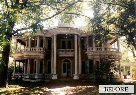 Historic Plantation House Plans by Saving The Grand Old Cartwright House In Texas