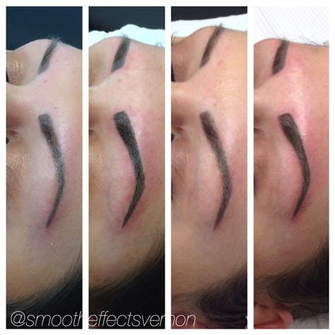 tattoo healing process before and after beautiful before and after healing process microblading