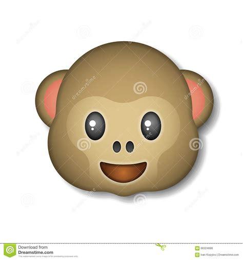 imagenes del emoji del mono monkey el emoticon icono logotipo s 237 mbolo ilustraci 243 n