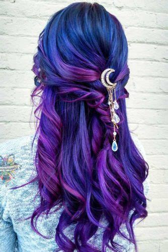 fabulous purple  blue hair styles lovehairstylescom