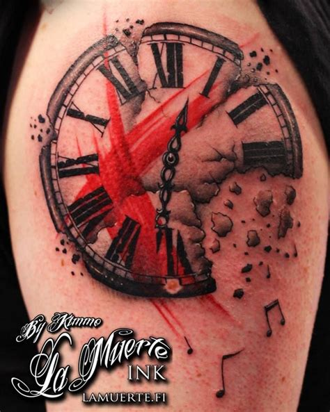 clock face tattoos designs 1000 images about buena vista polka trash on
