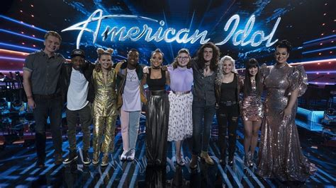 American Idol Show by American Idol Top 10 Revealed Variety