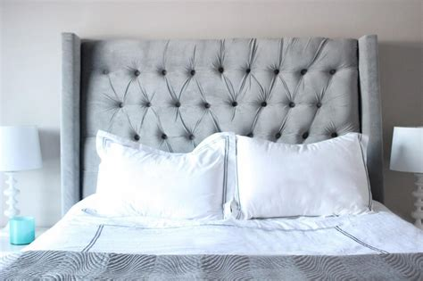 gray tufted headboard king fabric headboard king bed perfect upholstered king size