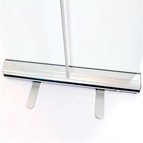 Narrow Width Stands Narrow Base Table Top Banner Stand Post Up Stand